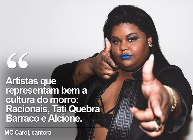 Cartela MC Carol (Foto: Divulgação)