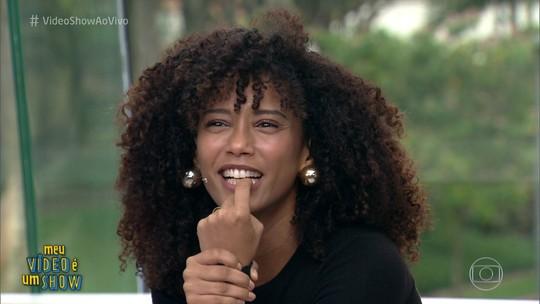 Taís Araújo se emociona ao rever cenas de sua primeira protagonista na TV