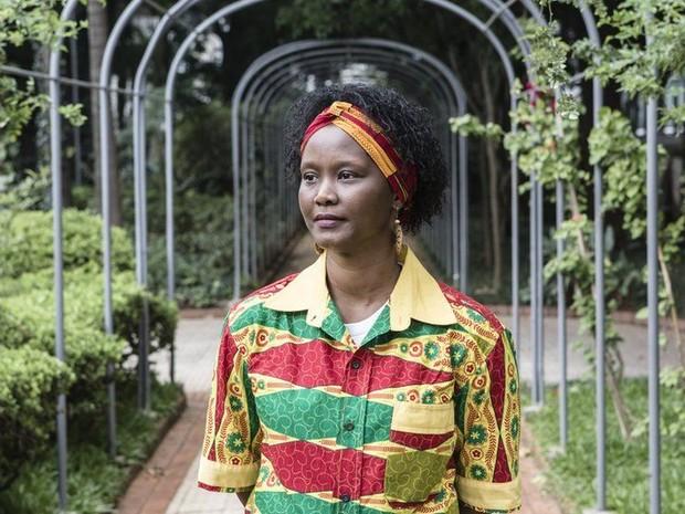Nádia Ferreira, de Guiné Bissau, diz que a questão racial despertou nela no Brasil (Foto: Gringo)