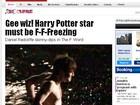 Daniel Radcliffe fica sem roupa em novo filme