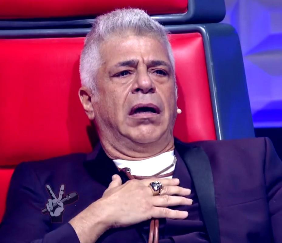 Lulu Santos se surpreendeu durante as apresentações (Foto: Globo)