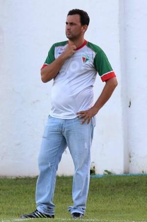 Treinador Eduardo Henrique do CEOV Operário (Foto: Assessoria/CEOV)