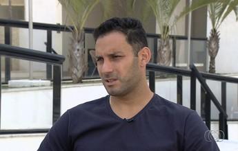 Frontini espera definir futuro para voltar a jogar até o fim da temporada