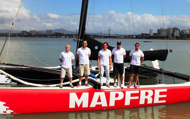 barco vela team brasil time florianópolis (Foto: Emanuel Galafassi / Divulgação)