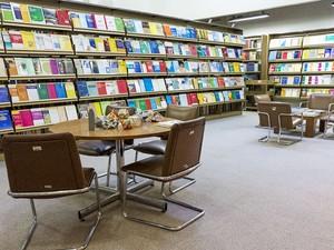 Biblioteca do Instituto Nacional de Matemática Pura e Aplicada (Impa) (Foto: Leonardo Pessanha/ Impa)