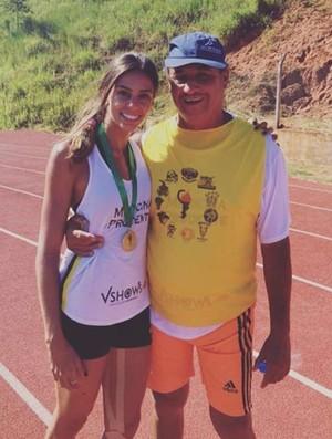 Amanda Hassan, atleta de medicina (Foto: Arquivo Pessoal / Cedida)
