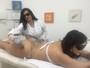 Geisy Arruda posta foto fazendo depilação a laser no bumbum