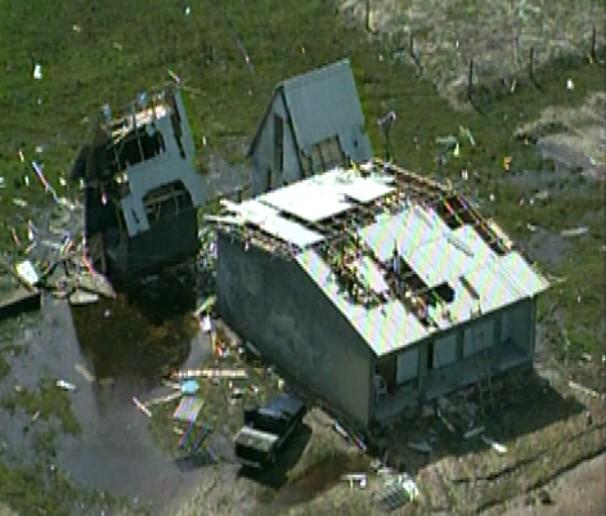 Será que estamos preparados para caso haja um novo furacão? (Foto: Reprodução/RBS TV)