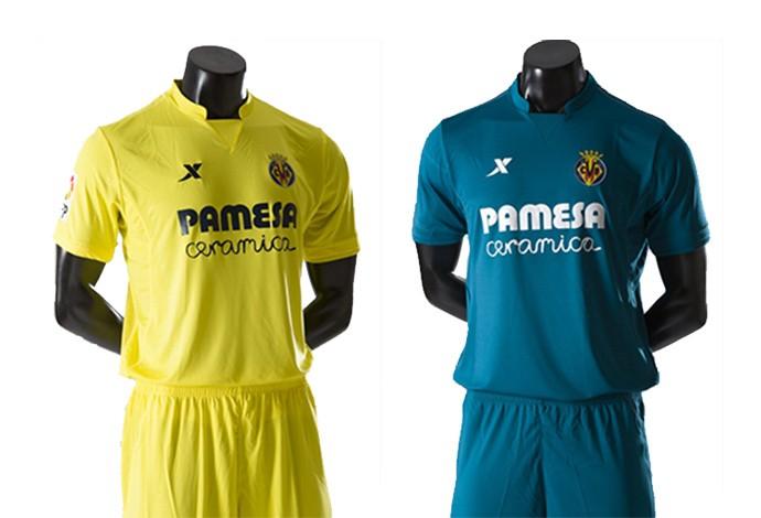Camisas espanhol Villareal