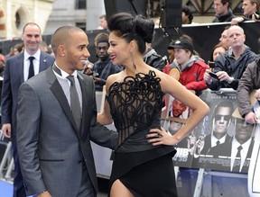 Nicole Scherzinger e Lewis Hamilton (Foto: Reuters/ Agência)