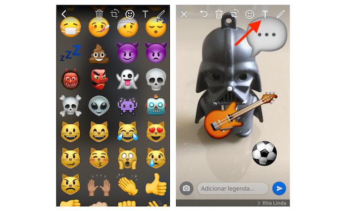 Como Adicionar Emojis Desenhos E Texto Em Fotos Enviadas Pelo Whatsapp Dicas E Tutoriais Techtudo
