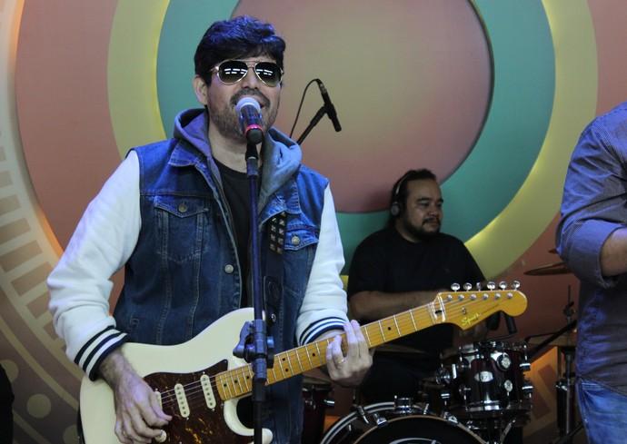 Marcel Graça é fã de Beatles (Foto: Katiúscia Monteiro/ Rede Amazônica)