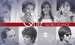 Adivinhe quem são alguns dos famosos que fazem parte da história da Globo!