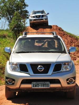 Novo sistema de estabilidade na Frontier aumenta a segurança no off-road (Foto: Divulgação)