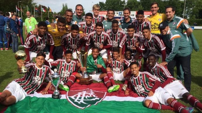 Fluminense sub-20 juniores Holanda (Foto: Divulgação / Fluminense FC)