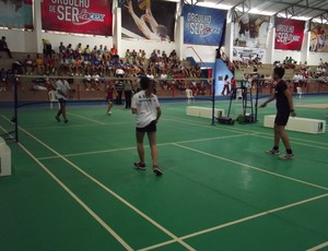 badminton Jogos Escolares (Foto: Arthur Barbalho)