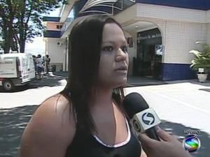 Técnica em enfermagem prestou os primeiros socorros após incêndio (Foto: Reprodução/TV Rio Sul)
