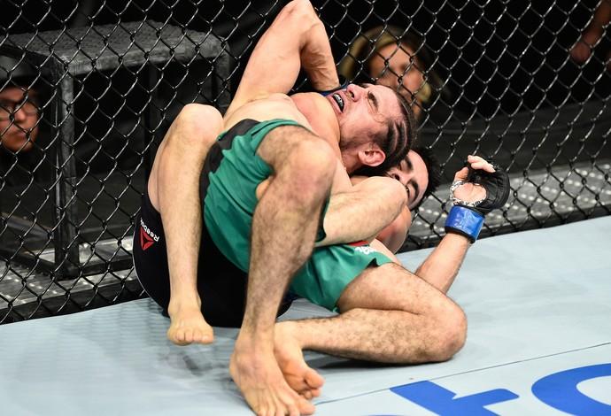 Joseph Morales x Roberto Sanchez UFC México (Foto: Getty Images)