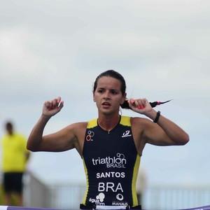 Jéssica Santos triatlo amazonas (Foto: Antônio Lima/Semjel)