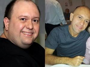Homem fica irreconhecível após perder mais de 50 quilos (Foto: Arquivo Pessoal / Gustavo Zanaroli)
