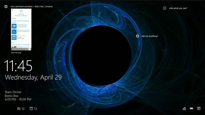Cortana (Foto: Reprodução/Microsoft)