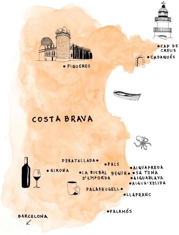Costa Brava, na Espanha, é refúgio de verão perfeito (Foto: Thalita Munekata)