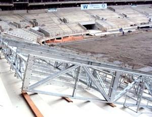 obras Arena Palmeiras (Foto: Divulgação / Site Oficial)