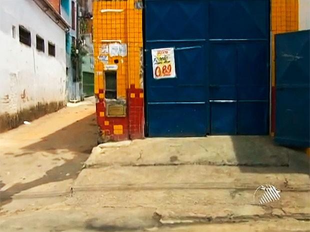 crime (Foto: Reprodução/TV Bahia)