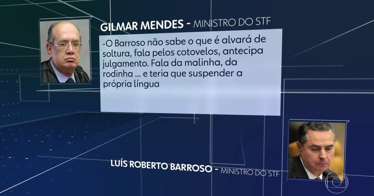 Resultado de imagem para Gilmar Mendes, do Supremo, hostiliza Barroso e critica Raquel Dodge
