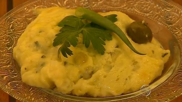 'Sabor Sergipe' ensina a receita do bacalhau à nata (Foto: Divulgação / TV Sergipe)