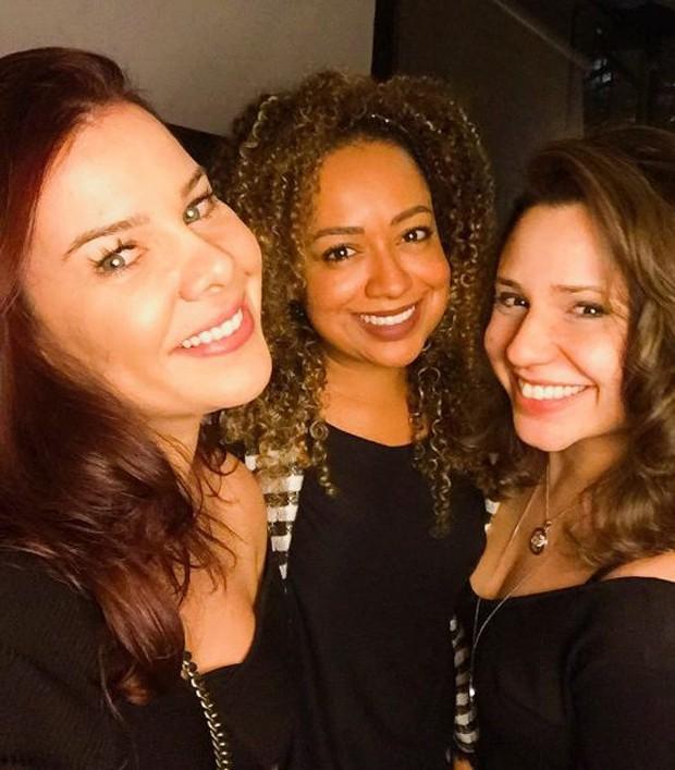 Fernanda Souza, Aretha Oliveira e Francis Helena (Foto: Reprodução/Instagram)