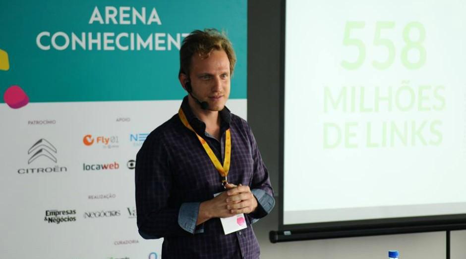 Guilherme Bcheche no Festival de Cultura Empreendedora (Foto: Rafael Jota)