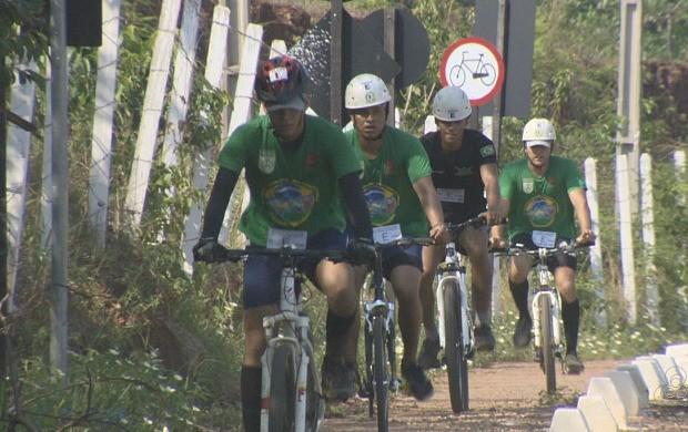 2ª Corrida de Aventura é realizada em Porto Velho (Foto: Globo Esporte)