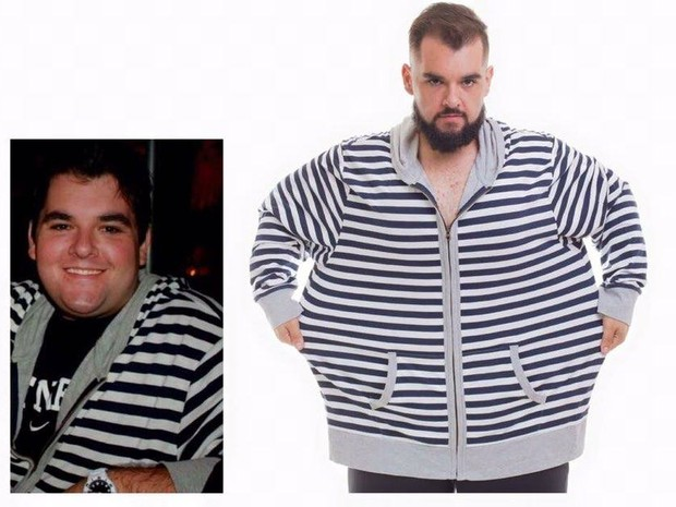 Professor de inglês de Taubaté perde 85 quilos sem cirurgia  (Foto: Arquivo Pessoal/Gustavo Victor)
