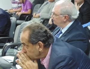 Alexandre Kalil, presidente do Atlético-MG, no STJD (Foto: Daniela Lameira / Site STJD)