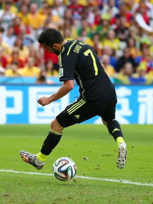 david villa espanha x australia (Foto: Getty Images)