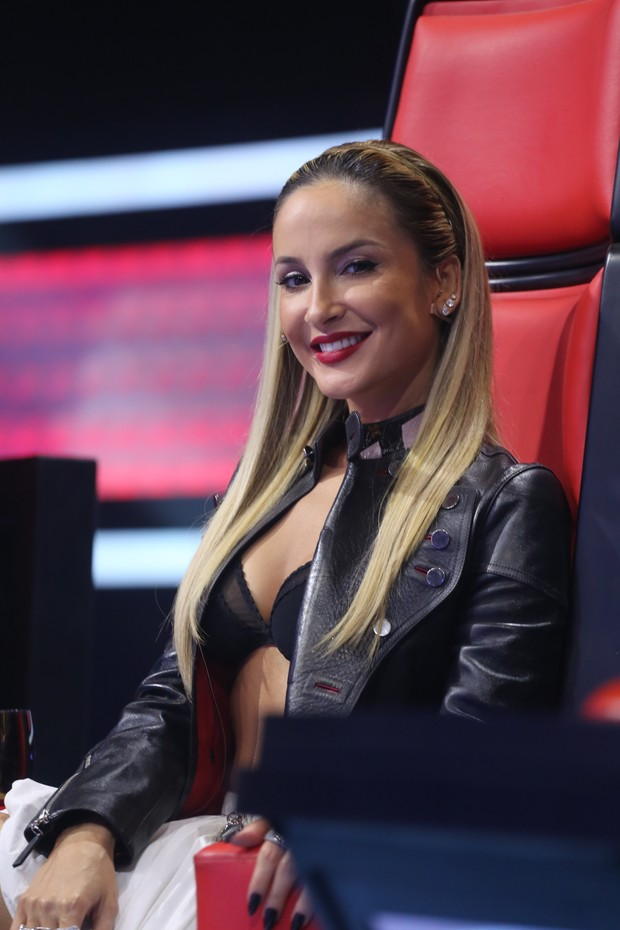 Claudia Leitte na final do The Voice (Foto:  Globo/ Paulo Belote)