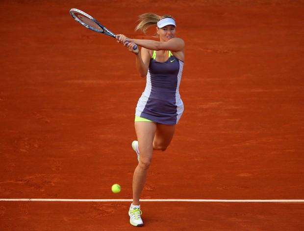 Maria Sharapova primeira rodada Roland Garros (Foto: Getty Images)