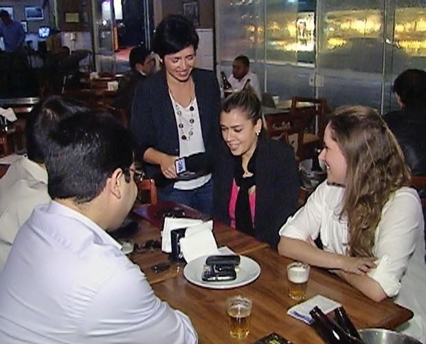 Entrevistados não conseguiram controlar a dependência virtual (Foto: Mais Você/ TV Globo)