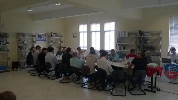Reunião do Campeonato Baiano (Foto: Lucas Leal)