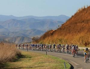 Pelotão Tour do Rio ciclismo (Foto: Tony D'Andrea / FOTOCOM.NET)