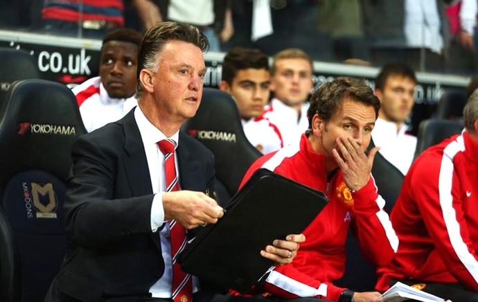 Van Gaal Manchester United (Foto: Reprodução/ Twitter)