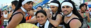 Milhares de foliões brincam no Bloco das Piranhas (Diego Toledano/ G1 AM)
