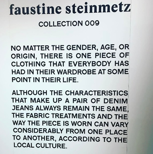 Faustine Steinmetz (Foto: @suzymenkesvogue Verificado)
