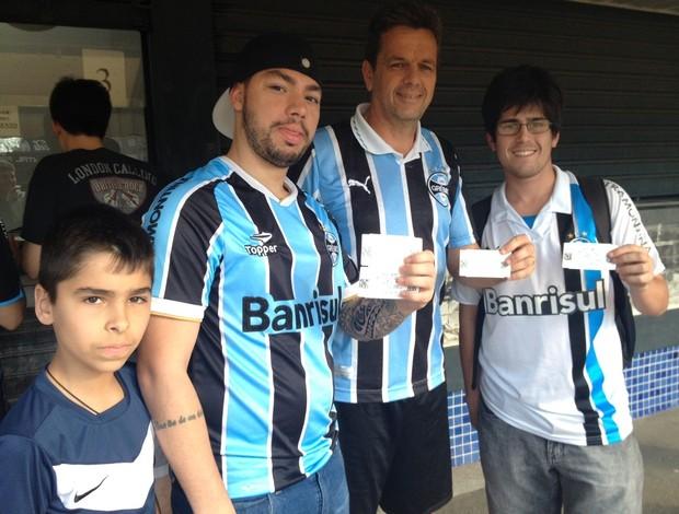 Grêmio vende ingressos no Olímpico para o Gre-Nal (Foto: Tomas Hammes)
