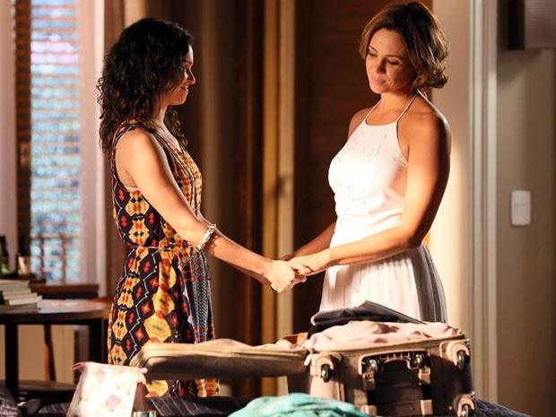 Vanessa Gerbelli grava última cena de Marina, em Sete Vidas (Foto: Isabella Pinheiro/Gshow)