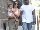 Kim Kardashian e Kanye West comemoram 1 ano de North West