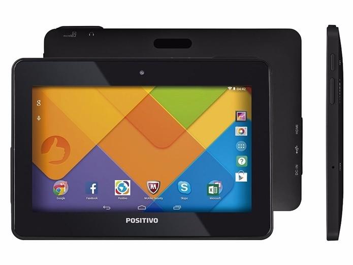 Excelente tablet com preço baixo (Foto: Divulgação/Positivo)