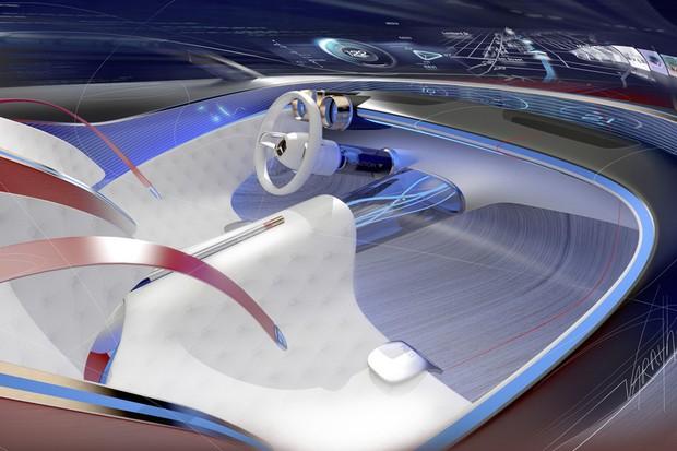 Mercedes-Maybach Vision 6 interior (Foto: Reprodução)