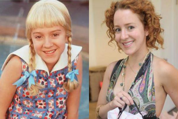 Olivia Hack em 1995 e atualmente (Foto: Divulgação)
